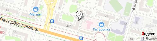 Народный магазин на карте Твери