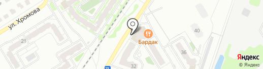 Веселый градус на карте Твери