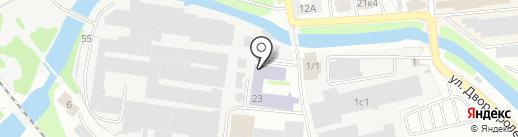Мох сфагнум на карте Твери