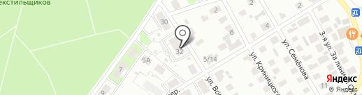 Тополя на карте Твери