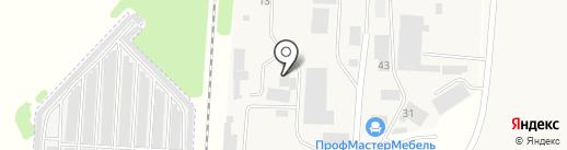 Деревообрабатывающий центр на карте Твери