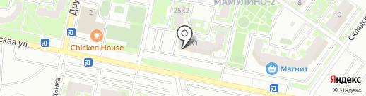 Мамулино-2 на карте Твери