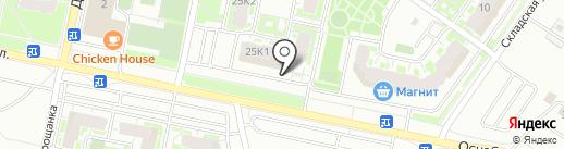ТВЕРСКАЯ ЖИЛИЩНАЯ КОМПАНИЯ на карте Твери