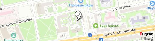 Милле кей на карте Твери