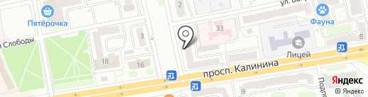 Птицефабрика Верхневолжская на карте Твери