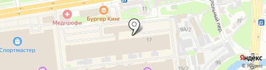 Магазин товаров для цветов на карте Твери