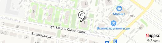Брусилово на карте Твери