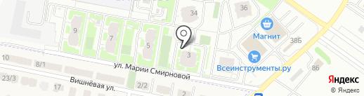 Карамелька на карте Твери