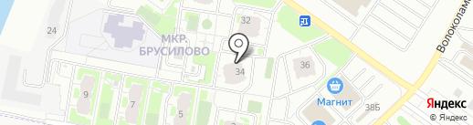НОВОСЕЛЬЕ на карте Твери