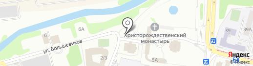 Церковь Николая и Александры, царственных страстотерпцев на карте Твери