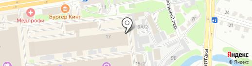 АвтоГоспиталь на карте Твери