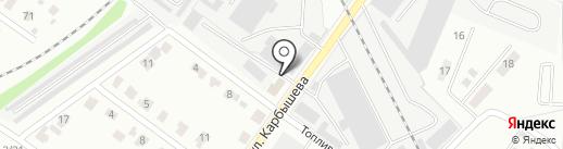 Авторемонтный бокс на карте Твери
