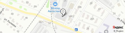 Тримо-ВСК на карте Твери