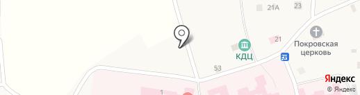 Сатурн на карте Бурашево