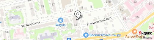 РК-Стом на карте Твери
