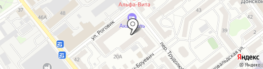 Страж на карте Твери