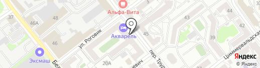 BABY TIME на карте Твери