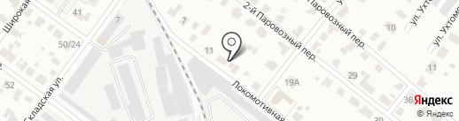 Мастермай на карте Твери