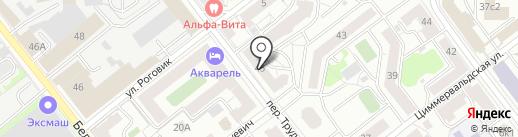 Оборонэнергосбыт на карте Твери