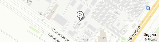 Ремтрал на карте Твери