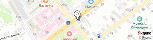 Магазин женской одежды больших размеров на карте Твери