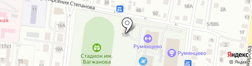 Румянцево на карте Твери