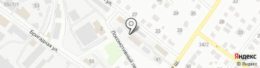 АВТОМАГ на карте Твери
