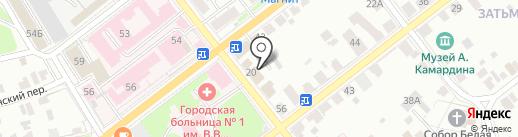 Медсервис на карте Твери