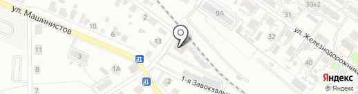 Русский вездеход на карте Твери