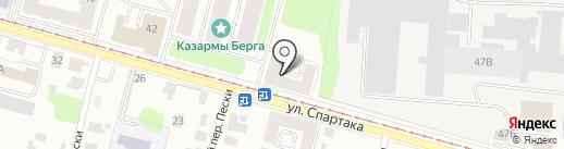 Росплитка на карте Твери