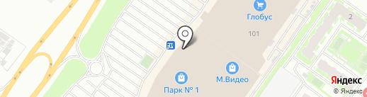 Скандия на карте Твери