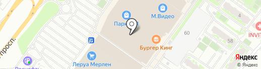 Банкомат, Росбанк, ПАО на карте Твери