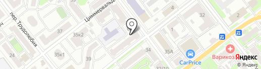 РАНС на карте Твери