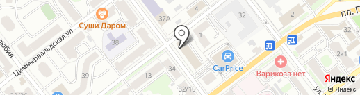 ТАНТИ на карте Твери