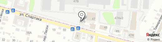 АвтоЗИП на карте Твери
