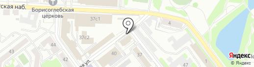 Китеж на карте Твери