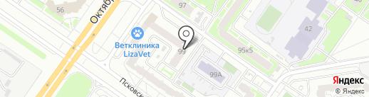 Региональный Центр Недвижимости на карте Твери