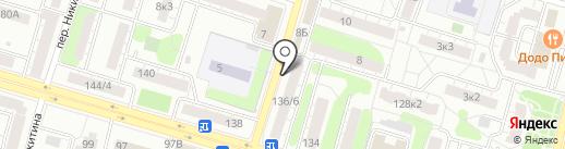 Эклер на карте Твери