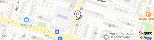 Ермолино на карте Твери