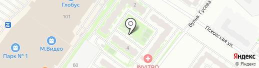 Микро ДСК на карте Твери