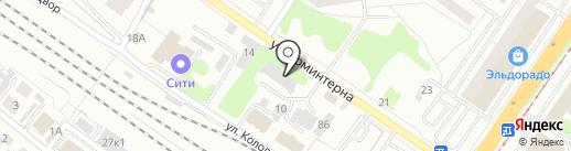 РЖД на карте Твери