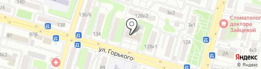 Комиссия по делам несовершеннолетних и защите их прав Заволжского района на карте Твери