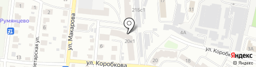 КОРОБКОВА, 20, КОРП.1, ТСЖ на карте Твери