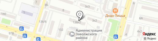 ЗАВОЛЖЬЕ-1, ТСЖ на карте Твери