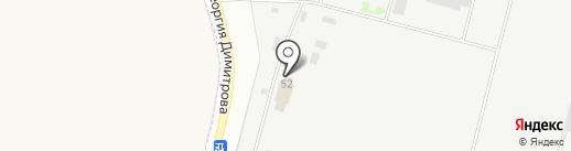 Калининское, ЗАО на карте Твери