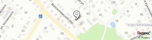 Русский Фейерверк на карте Твери