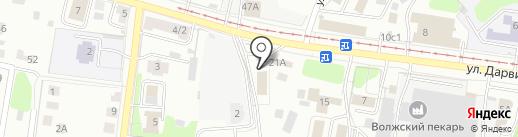 Новотехника на карте Твери