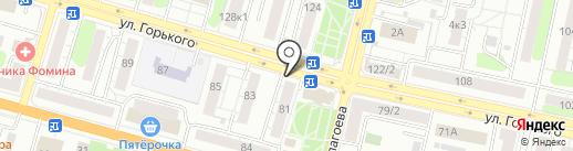БОРОВИЧИ МЕБЕЛЬ на карте Твери