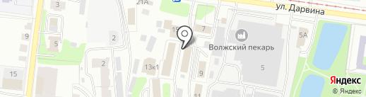 Консультационный центр для потребителей на карте Твери