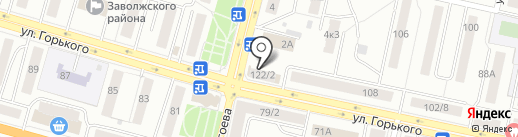 МЁД на карте Твери